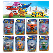 4 Super Wings Grande - Discovery Kids - (kit Com 4)