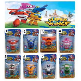 4 Super Wings Grande - Discovery Kids - (kit Com 4)