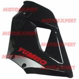 Carenado Superior Izquierdo Negro Yumbo R8 Original