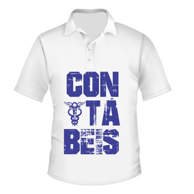 Camiseta Camisa Ciências Contábeis Gola Polo Exclusiva