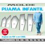Molde Pijama Infantil