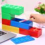 Caja Plástica Organizadora Bloque Lego Apilable
