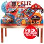 Paw Patrol Set De Cumpleaños, Platos, Bolsas, Guirnalda Etc