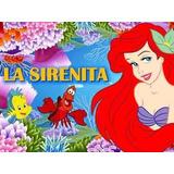 Kit Imprimible La Sirenita Princesa Ariel Cumples Y Mas 2x1