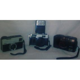 Cameras Fotograficas Antigas, Canon,kodak,mitsuca.