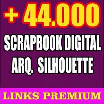 Silhouette 44 Mil Diseños Scrapbook Cameo Letras Cajas Cameo
