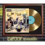 Oasis Definitely Maybe Tapa Lp Firmada Y Disco Oro En Marco