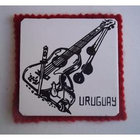 Posavasos Motivo Gaucho 1950 Boleadora Guitarra Mate Facon