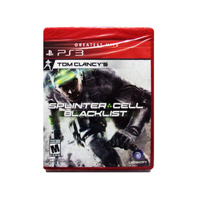 Tom Clancys Splinter Cell Blacklist Nuevo Ps3 Playstation 3