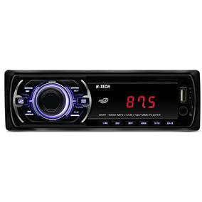 Som Carro Auto Radio Fm Usb Mp3 Pen Drive Cartão Sd Aux