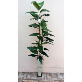 Planta Arvore Folhagem Artificial Alta Sem Vaso