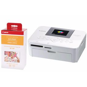 Kit Mini Impressora Fotográfica Canon Selphy Cp1000 E Rp108