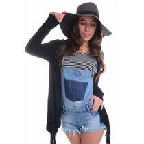 Jardineira Jeans - Kam Bess - Sh0227