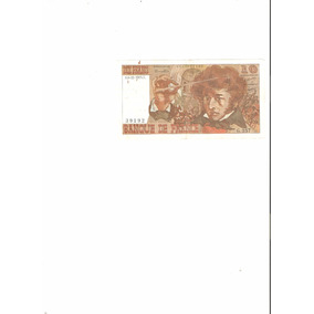 Billete De Francia 10 Francos 1975