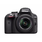 Camara Digital Nikon D3300 1532 18-55mm Dx Nikkor Zoom Slr