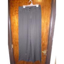 Pantalon Palazzo Negro Nuevo Oferta