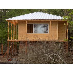 cabaas de madera en el delta y la ciudad precio por m