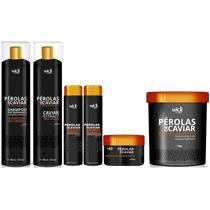 Escova Kit Pérola De Caviar Widi Care-manutenção+máscara 1kg