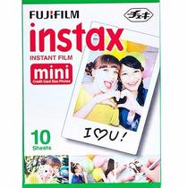 Cartucho De 10 Fotos Cámaras Fujifilm Instax Mini. Tienda
