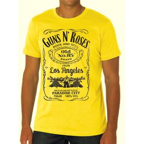 Camisa Guns N Roses - Jack Daniel´s