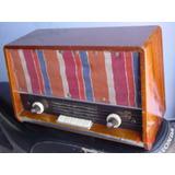Antigua Radio Philips De Madera Gratis Envio