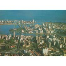 Rec-17933 - Postal Recife, Pe - Vista Aerea Panoramica