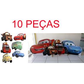 10 Display De Chão Carros Disney Personalizado C/ 1 Metro