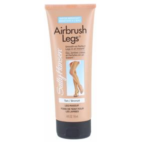 Airbrush Sally Hansen Legs Makeup Maquiagem Perna Tan Bronze