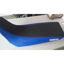 Capa Banco Moto Xtz 125 Antiderrapante Azul/preto