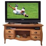 Rack Mesa Tv Lcd Modelo Vintage - Mueble - Organizador