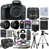 Camara Nikon D5500 Kit Completo Envio Gratis 12msi Sara