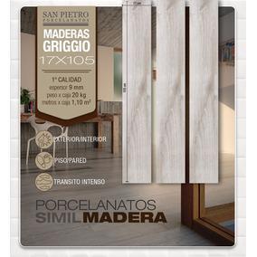 Porcelanato San Pietro Simil Madera Griggio 16x105 Oferta!!