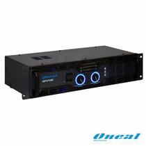 Amplificador Potência Oneal Op-1700 (modelo Novo Do Op-1600)
