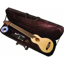 Washburn Guitarra Acustica Natural Ro10 Con Estuche Set 2