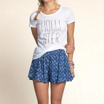 Camisetas Hollister Feminina 100% Original Pronta Entrega
