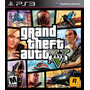 Juego Ps3 Gta Grand Theft Auto V Ps3 Nuevo Sellado Fìsico