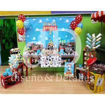 Mesa De Dulces Temática Infantil Toy Story Premium