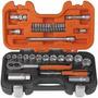 Caja Juego Set Bocallaves Tubos 1/2 Y /3/8 Bahco S330 Mm