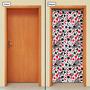 Adesivo Decorativo De Porta - Naipes De Baralho - 689mlpt