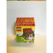 Pollo Minifigura Lego® Original Con Casita ¡envio Gratis!
