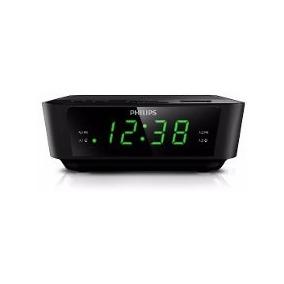 Radio Relogio Philips Fm Digital Aj3116 Despertador Alarm