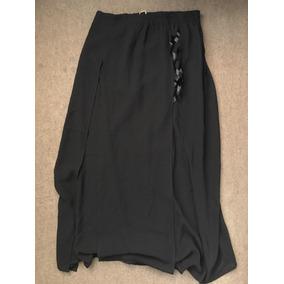 Pantalon Falda Negra Nueva