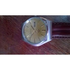 Relógio Citizen Automático Unissex, Pulseira De Couro.