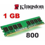 Kingston Original Ddr2 1gb Bus 800 Kvr800d2n6 X 2 Unidades