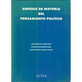 Sintesis Historia Del Pensamiento Politico Martinez Roda Dyf
