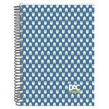 Caderno Universitário Capa Dura 1 Matéria 96 Folhas Coruja -