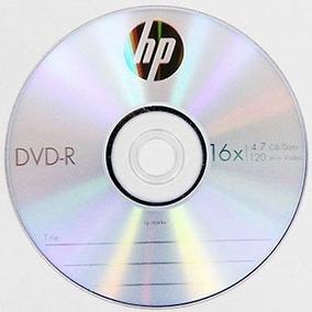 Dvd-r Marca Hewlett Packard 4.7 Gb 16x Con Sobre Incluido.