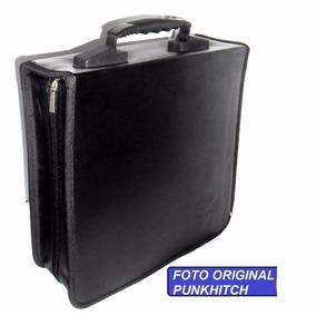 Porta Cd Grande Semicuero 240 Cds