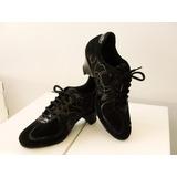 Zapatillas De Baile Mujer 4 Corazones | Tango Salsa Rock