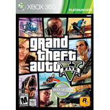 Xb360 - Grand Theft Auto V - Nuevo Y Sellado - Ag
